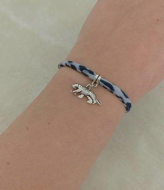 Armband Leopard Grijs - Tijger