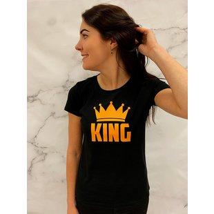 Shirt Zwart maat XS - 'King' - Supersale