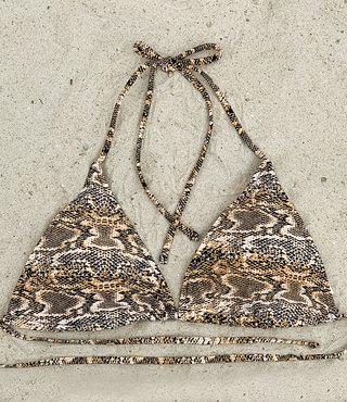Bikinitop Triangel Snake AA &A - Supersale