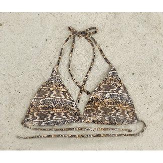 FestyFashion Bikinitop Triangel Snake AA t/m B  Supersale