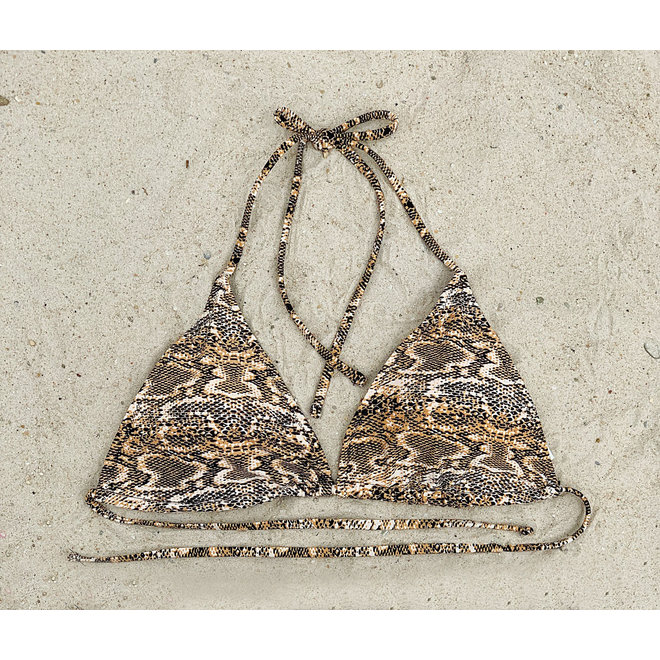 Bikinitop Triangel Snake AA t/m B  Supersale
