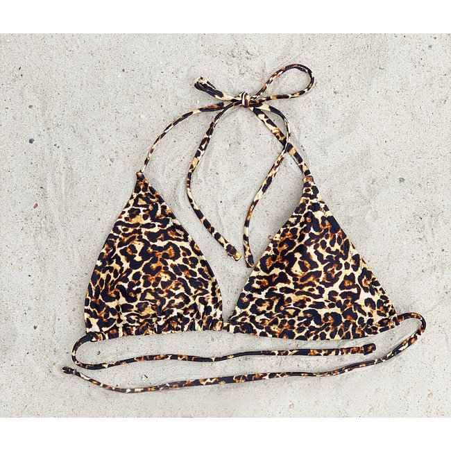 FestyFashion Bikinitop (triangel) Panter - cup AA, A