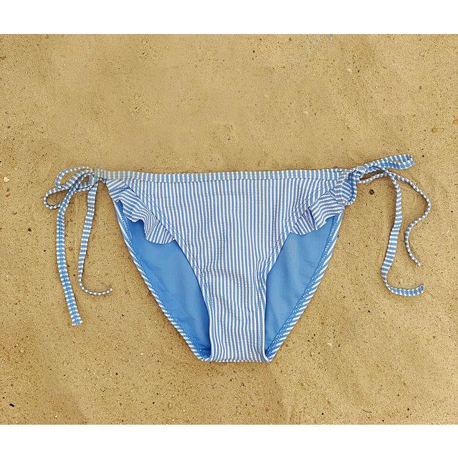 Bikinibroekje Ruffle Lichtblauw XS&S - Supersale