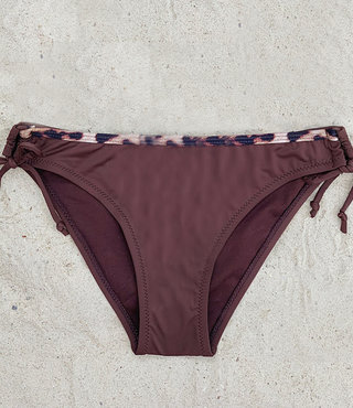 Bikini Broekje Panter Bruin XS t/m L - Supersale