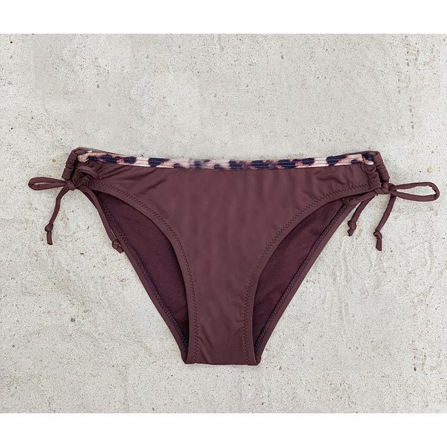 FestyFashion Bikinibroekje Panter Bruin XS,S- Supersale