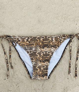 Bikini Broekje Triangel Snake XS t/m M - Supersale