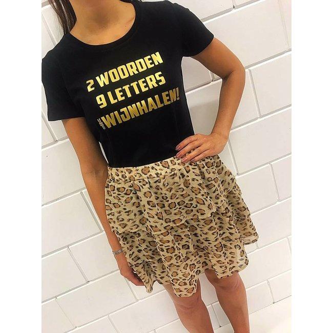 FestyFashion Shirt Hoodie '2 woorden - #wijnhalen'  - Supersale