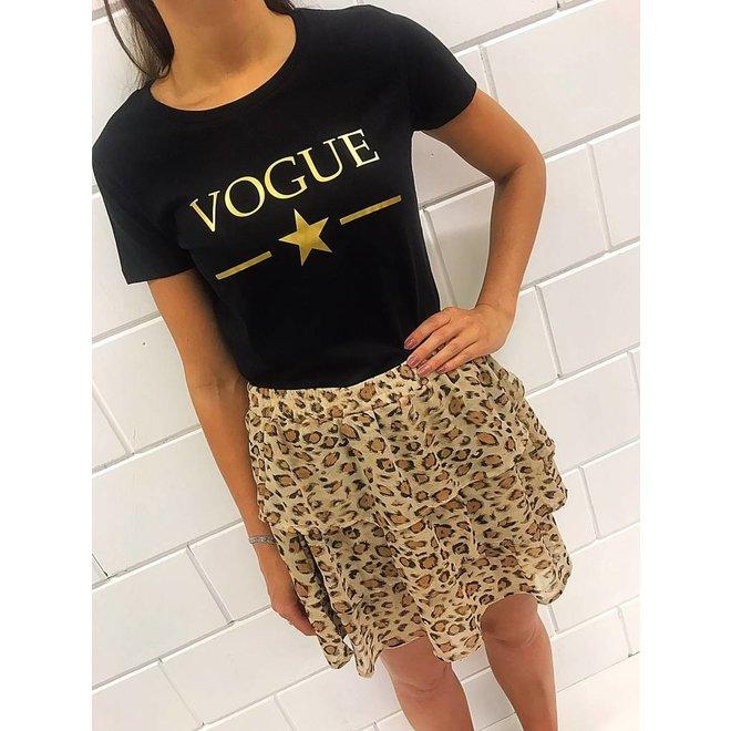 Shirt - 'Vogue met ster'  - Supersale