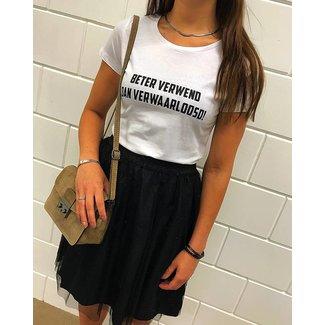 FestyFashion Shirt  Hoodie 'Beter Verwend'  - Supersale