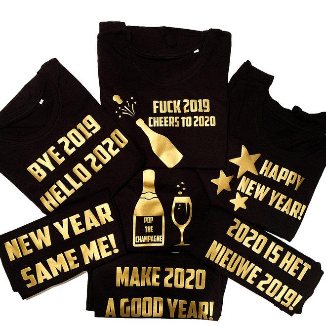 Shirt - 'Nieuwjaar' (verschillende teksten)