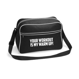 FestyFashion Tas Your workout, my warm up!  - Supersale