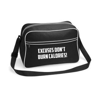 FestyFashion Tas Excuses don't burn calories! - Supersale