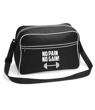 Tas 'No Pain, No Gain!'  - Supersale