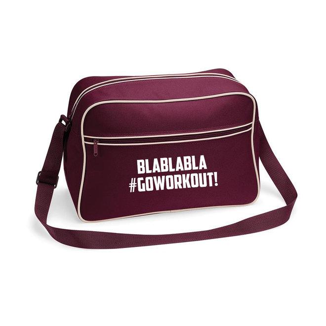 Tas 'Blablabla #GoWorkout!'  - Supersale