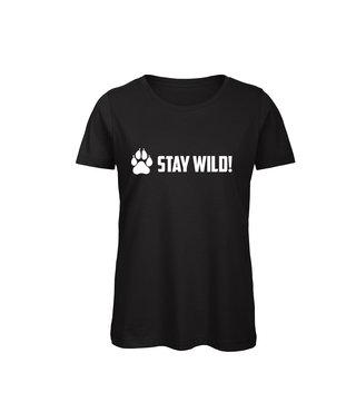 Shirt - 'Stay Wild!' - Supersale