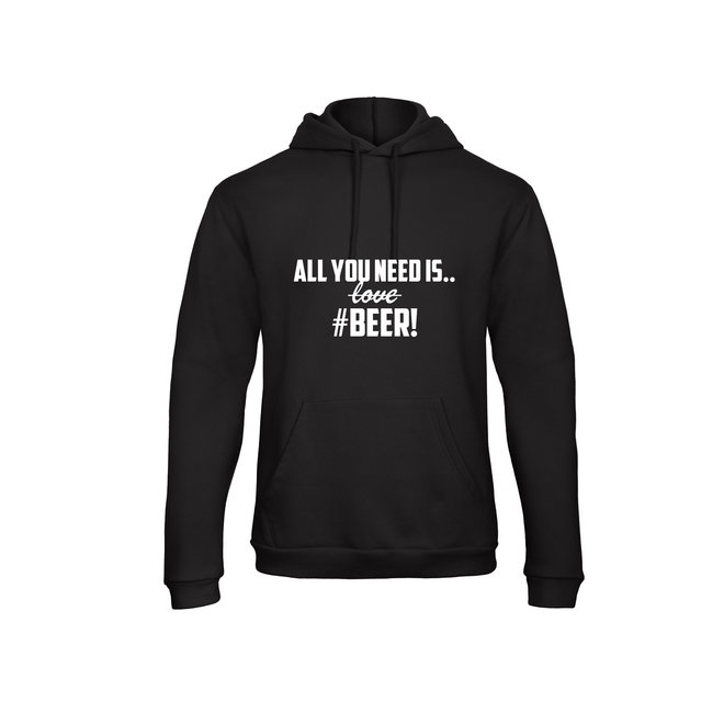 Shirt - 'All You Need #Beer!' - Supersale