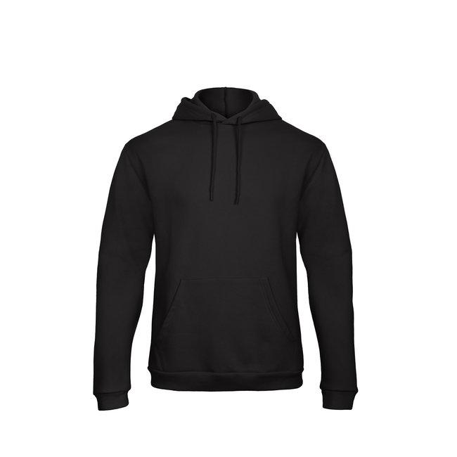 FestyFashion Hoodie Zwart (quote naar keuze) - Supersale