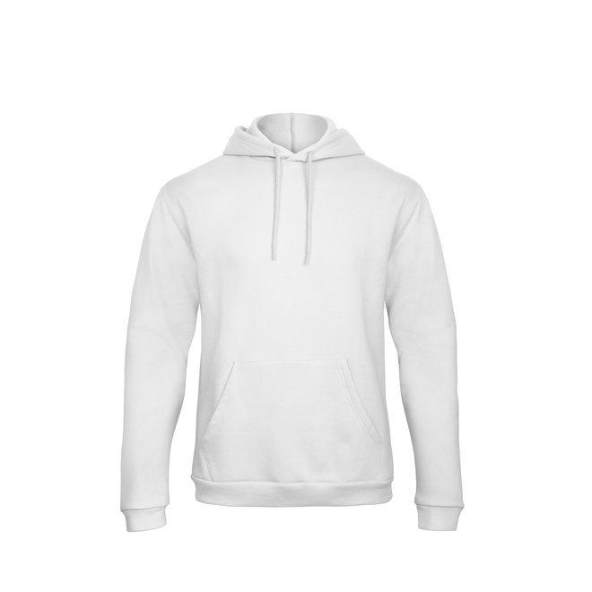 Hoodie Wit (quote naar keuze) - Supersale