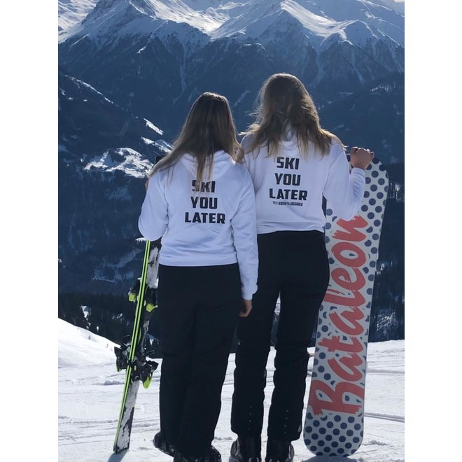 Shirt Hoodie Ski You Later! - Supersale