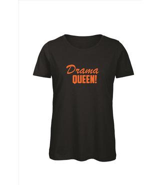 Shirt/Hoodie Zwart - 'Drama Queen'