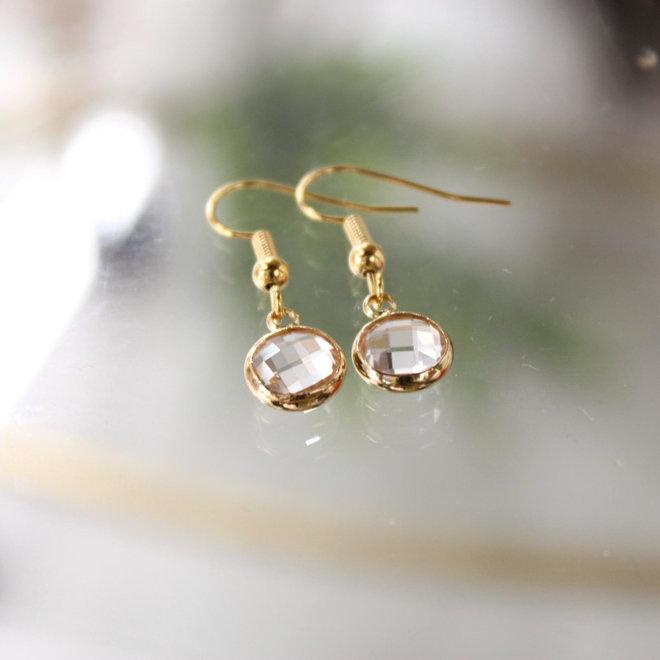 Oorstekers Goud - Diamond