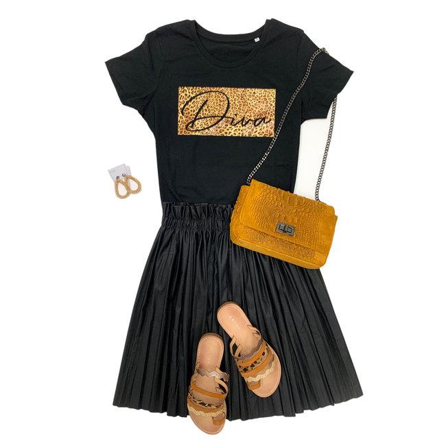 FestyFashion Shirt Hoodie 'Diva Vierkant' - Supersale