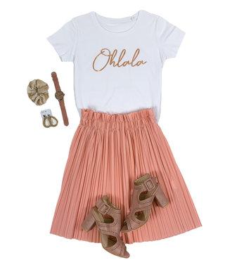 Shirt Zwart/Wit - 'Ohlala' - Supersale