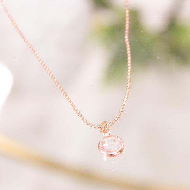 Biba Ketting Rose Diamond