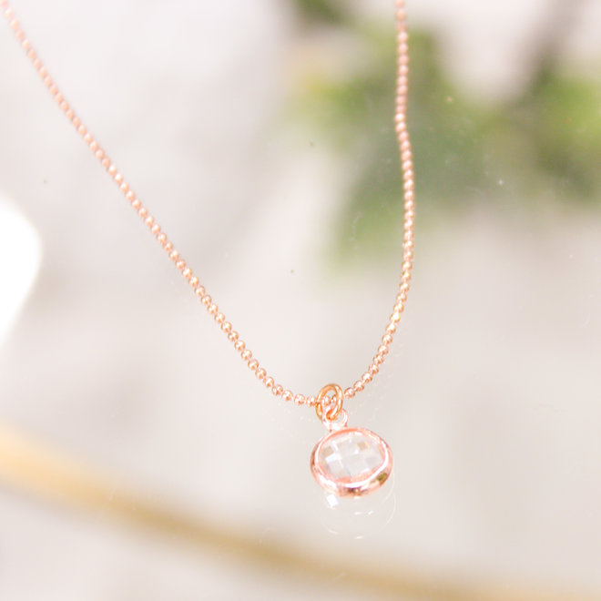 Ketting Rose - Diamond