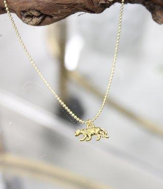 Ketting Goud - Luipaard