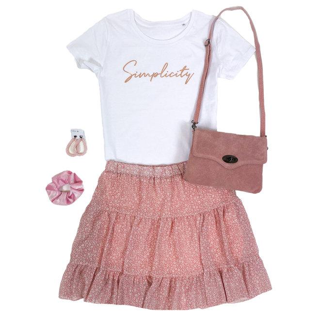 Shirt Zwart/Wit - 'Simplicity' - Supersale