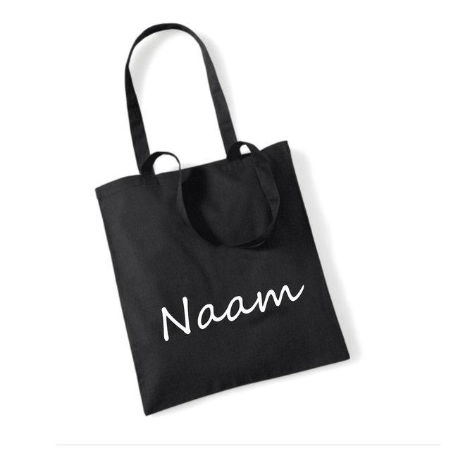 Cotton Bag Naam (meerdere kleuren)
