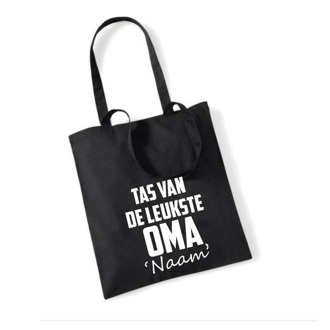 Cotton Bag Leukste Oma (meerdere kleuren)
