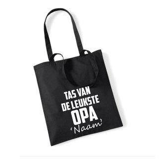 Cotton Bag Leukste Opa (meerdere kleuren)