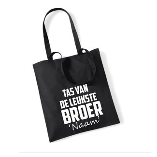 Cotton Bag Leukste Broer (meerdere kleuren)