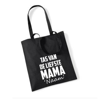 Cotton Bag Liefste Mama (meerdere kleuren)