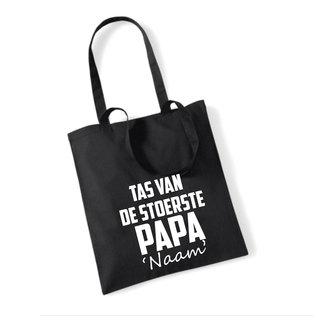 Cotton Bag Stoerste Papa (meerdere kleuren)