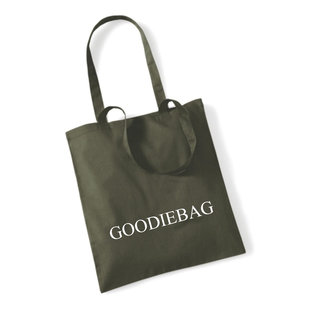 Cotton Bag Goodiebag (meerdere kleuren)