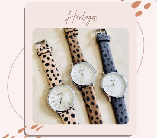 Horloges - Jij bent toch ook bij de tijd!