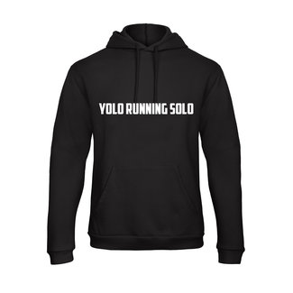 FestyFashion Hoodie Yolo Running Solo