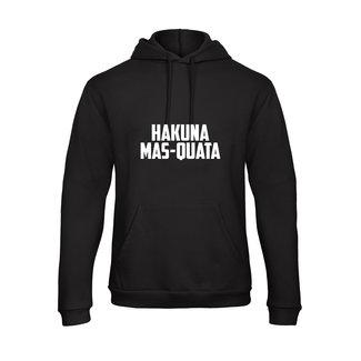 FestyFashion Hoodie Hakuna mas-quata