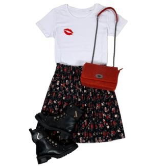 FestyFashion Shirt Hoodie Kiss -Supersale
