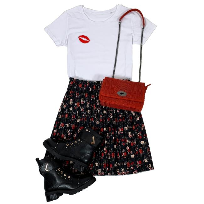FestyFashion Shirt Hoodie Kiss - Supersale