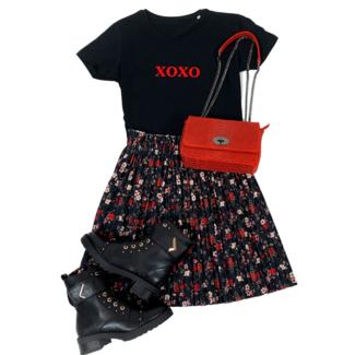 FestyFashion Shirt Hoodie  XOXO- Supersale