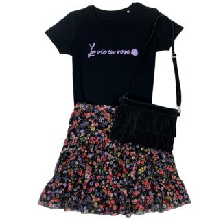 FestyFashion Shirt Hoodie La vie en rose