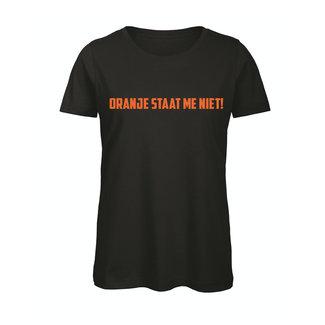 Shirt Hoodie 'Oranje staat me niet'