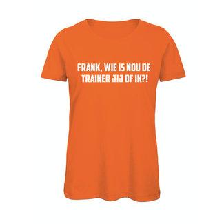 Shirt Hoodie 'Frank, wie is nou de trainer'
