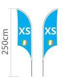Beach flag Shark XS - 68x200cm