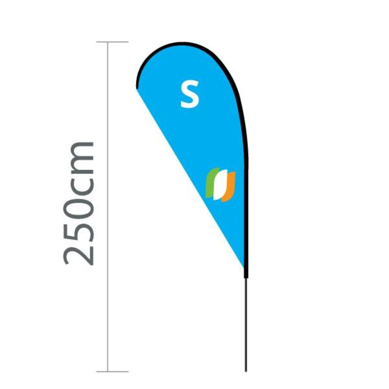 Beachflag Flying S - 90x180cm