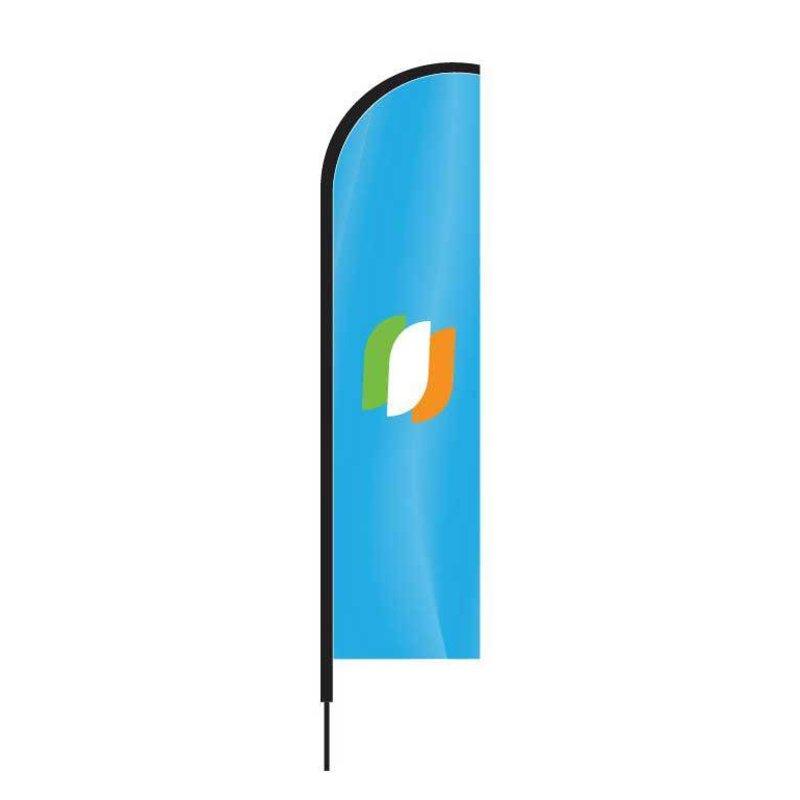Beach flag Straight
